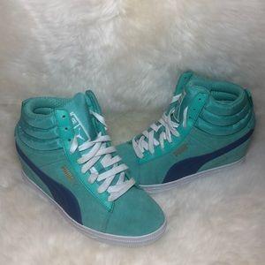 Women's Puma Wedge Sneakers